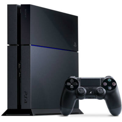 Sony PlayStation 4 Jet Black 500GB (PS4 500GB) Játékkonzol