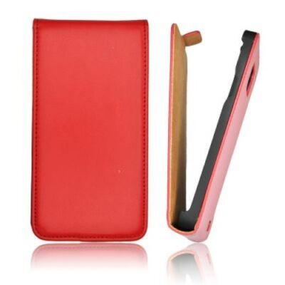 Slim Flip Tok mágneses piros színben Sony