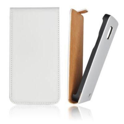 Slim Flip Tok mágneses fehér színben Samsung