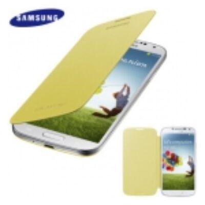 Flip Cover Samsung i9500 Galaxy S4 Sárga