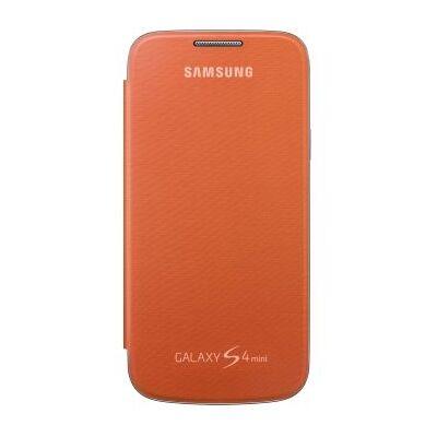 Flip Cover Samsung i9190 Galaxy S4 mini Narancs